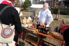 lunch-brake-on-location-at-Red-BankNJ-film-shoot.-a-Taste-of-History